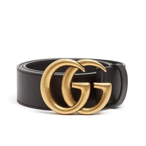 Gucci Brand New Size 80/32 GG-logo leather belt