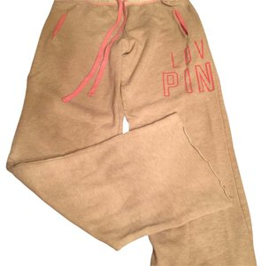 PINK Pink Sweat Pants with pockets xs