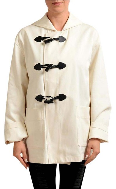 Item - Off-white Button Down Women's Basic Jacket Size 12 (L)