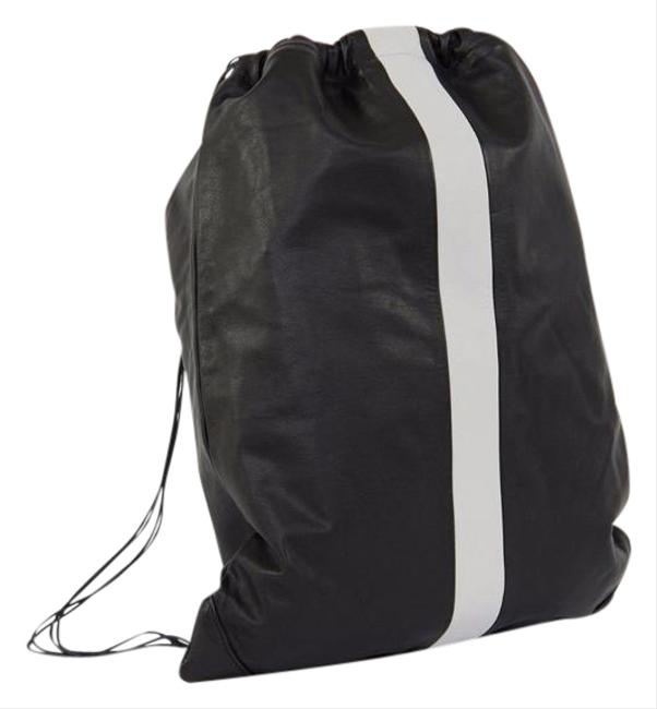 Item - Rain Gym Black Leather Backpack