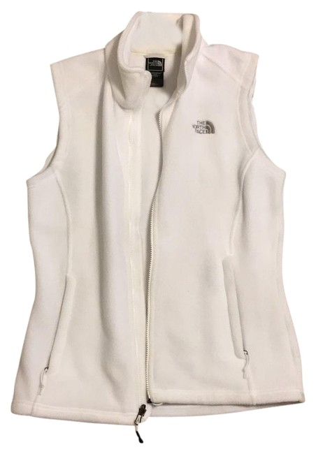 Item - White Women's Fleece Vest Size 8 (M)