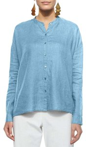 Eileen Fisher Top Blue