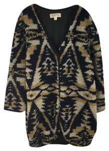 Textile by Elizabeth and James Longsleeve Wool V-neck Cardigan