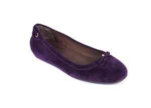 The Original Car Shoe purple Flats