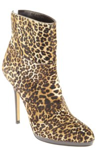 Jimmy Choo Stiletto Leopard Boots