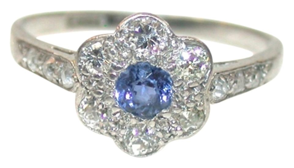 gold white sapphire studio artwork blue and ceylon featured cornflower bypass ring