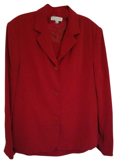 Item - Red Skirt Suit Size 14 (L)