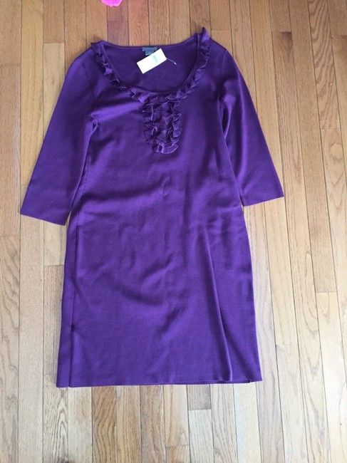 Ann Taylor short dress Plum on Tradesy