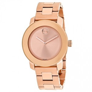 Movado NWT Bold 36mm Rose Gold Dial watch 3600342
