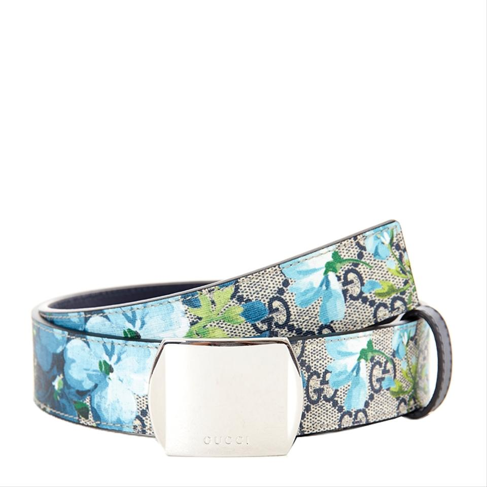 a55af600a2b Gucci Gucci Women s Bloom GG Supreme Canvas Leather Belt 424674 Size 42  Image 0 ...