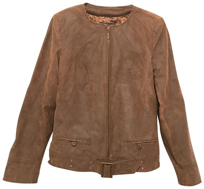 Item - Brown Suede Jacket Size 2 (XS)