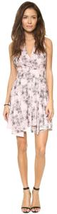 Robert Rodriguez Shift Sheath Sleeveless Floral Fit N Flare Dress