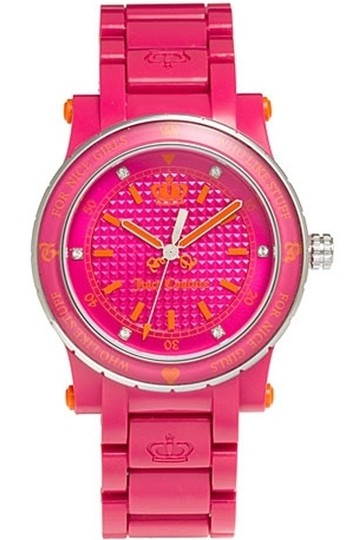 Juicy Couture Juicy Couture Female Dress Watch 1900727 Pink Analog