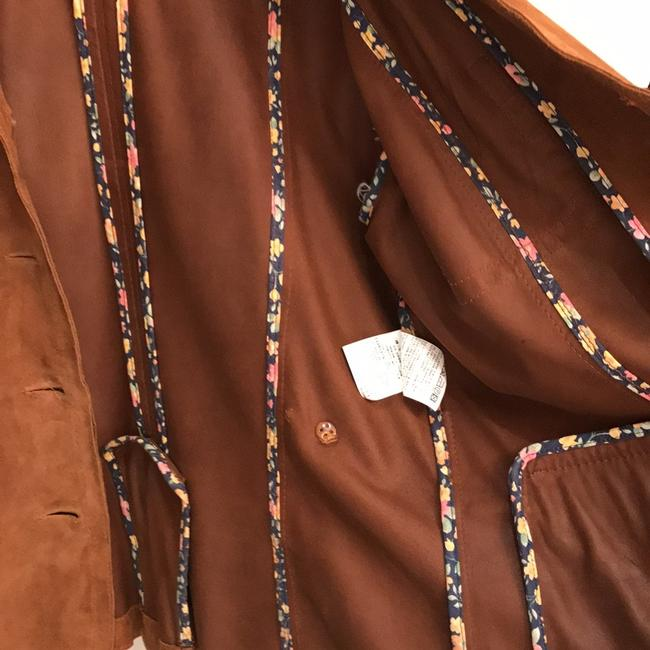 Max Mara Caramel Leather Jacket