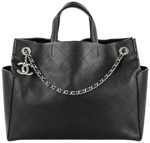 41f3842b4da9 Added to Shopping Bag. Chanel Calfskin Large Tote ...