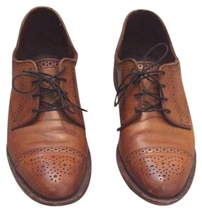Allen Edmonds Brown/cognac Flats