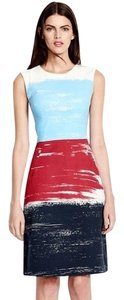 Lands' End short dress red white blue on Tradesy