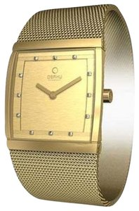 Obaku Obaku Female Dress Watch V102LGGMGS Gold Analog