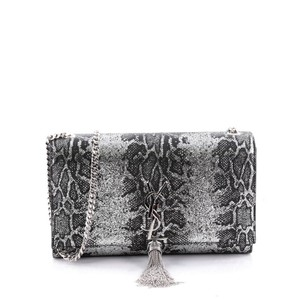 Saint Laurent Classic Python Leather Cross Body Bag