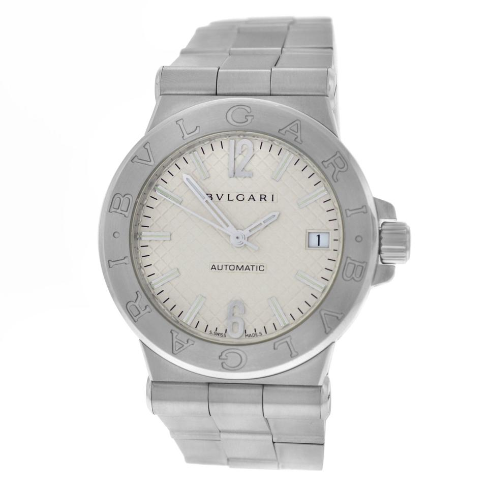 sd bvlgari s watches diagono owned pre scuba bulgari