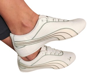 Puma Sneakers white and silver Athletic