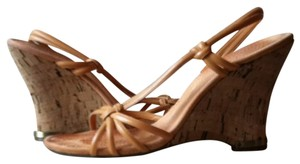 Enzo Angiolini Light Peach Sandals