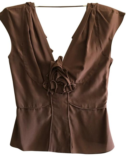 Item - Made In France Brown Top