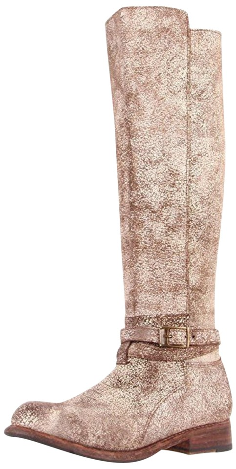 Bed|Stü Oklahoma Brown New Bristol Knee High Leather Bristol New Boots/Booties 214709