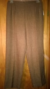 Sag Harbor Trouser Pants Coco Brown Tweed