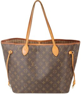 Louis Vuitton Neverfull Nm Mm Gm Lv Tote in Monogram