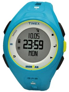 Timex TW5K87600 Ironman Unisex Blue Resin Band With Silver Digital Dial