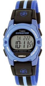 Timex TW4B02300 Women's Multicolor Nylon Band With Grey Digital Dial Watch