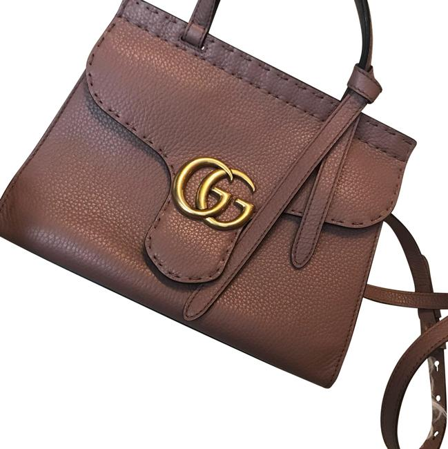 Item - Marmont Exclusive Color Rose Lambskin Leather Cross Body Bag