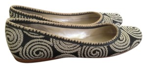 Jack Rogers Black/White and Tan/White Flats