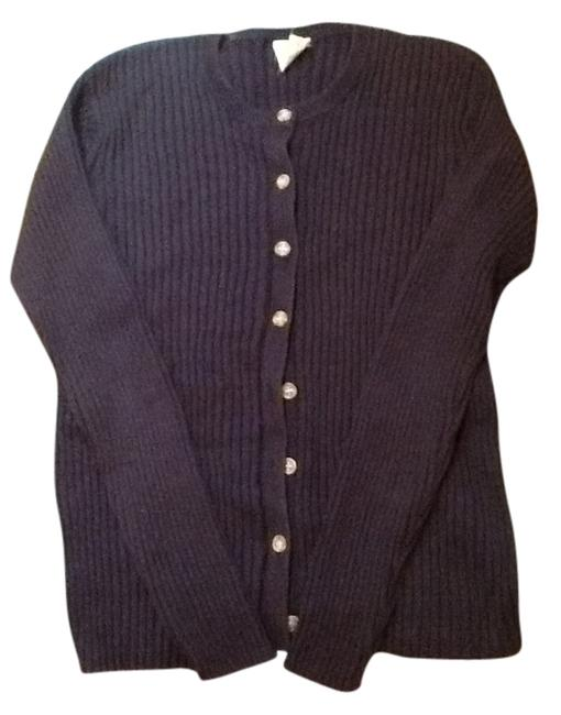 Preload https://item1.tradesy.com/images/old-navy-blue-sweater-cardigan-size-12-l-2239780-0-0.jpg?width=400&height=650