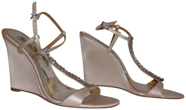 Item - Satin Jeweled Formal Shoes Size US 7 Regular (M, B)