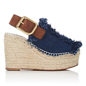 Chlo denim Platforms