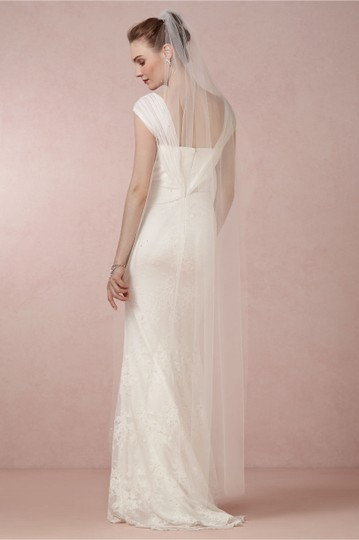 BHLDN Ivory Long Lighter Than Air Bridal Veil Image 1