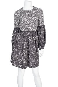 Mulberry short dress grey on Tradesy