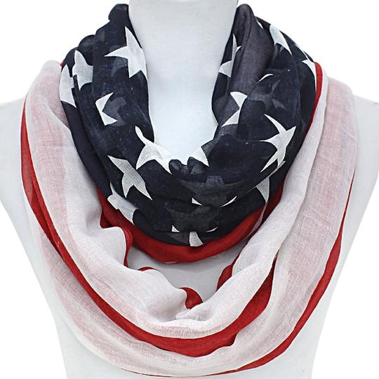 Preload https://item3.tradesy.com/images/red-white-and-blue-american-flag-infinity-scarfwrap-2239902-0-0.jpg?width=440&height=440