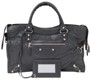 Balenciaga Giant 12 Leather City Shoulder Bag