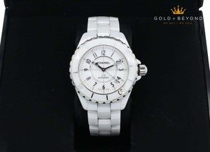 Chanel * Chanel J12 White Ceramic Automatic Diver Watch
