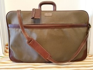 Hartmann Luggage Vintage Luggage Tweed brown taupe Travel Bag