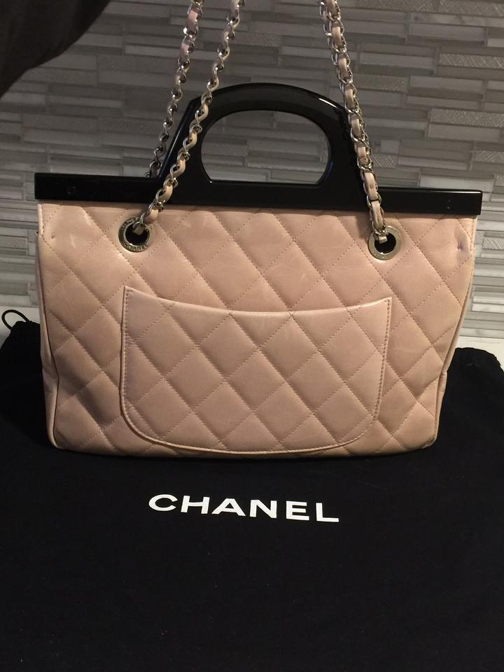 ad87979a0448 Chanel Small Cc Delivery Tote Quilted Glazed Shoulder Blush Pink ...