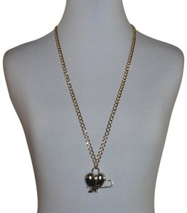 "Rachel Leigh Rachel Leigh ""Pinned"" Pendant Curb-Style LInk Necklace"
