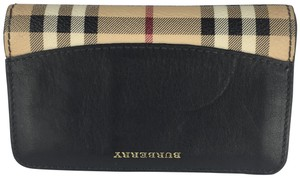 Burberry Burberry Black Leather Wallet