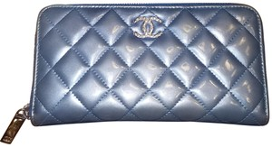 Chanel Brilliant Quilted Zippy Wallet