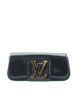 Louis Vuitton Patent Leather Green Clutch