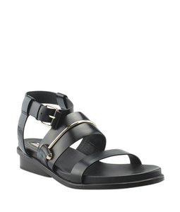 Balenciaga Leather Black Sandals