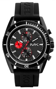 Michael Kors Michael Kors Men Black Jet Master Chronograph Watch MK8377